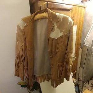 B-Bar-T vintage leather jacket